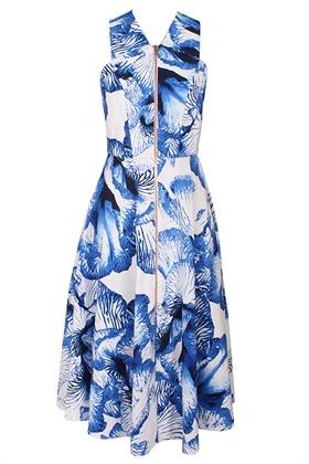 1  Floret Long Dress